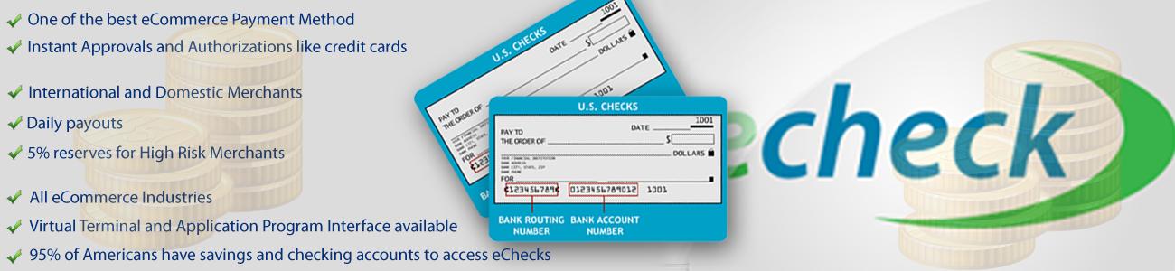 ACH High Risk Merchant Account | International Merchant Account